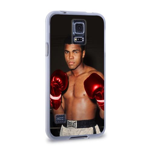 Чехол для Samsung Galaxy S5 силиконовый  Фото 02, Мухаммед Али