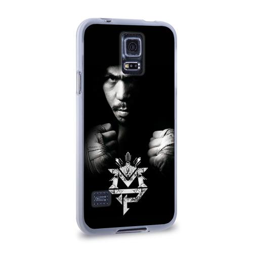 Чехол для Samsung Galaxy S5 силиконовый  Фото 02, Менни Пакьяо