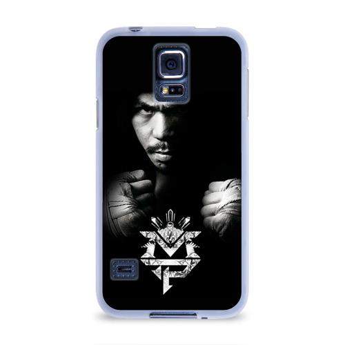 Чехол для Samsung Galaxy S5 силиконовый  Фото 01, Менни Пакьяо