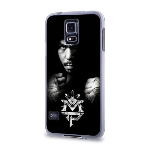 Чехол для Samsung Galaxy S5 силиконовый  Фото 03, Менни Пакьяо
