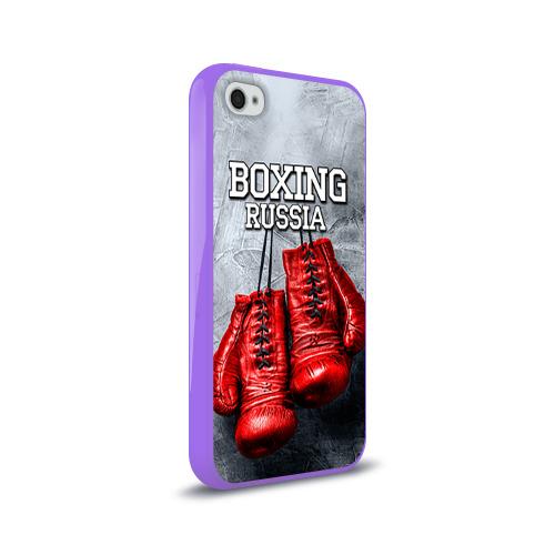 Чехол для Apple iPhone 4/4S силиконовый глянцевый  Фото 02, Boxing