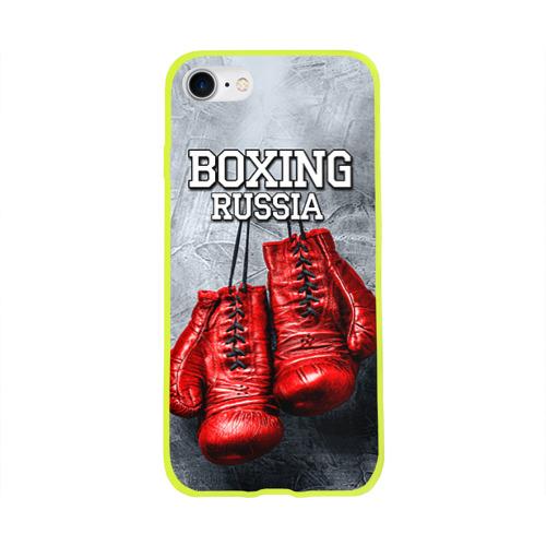 Чехол для Apple iPhone 8 силиконовый глянцевый Boxing Фото 01