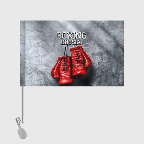 Флаг для автомобиля Boxing Фото 01
