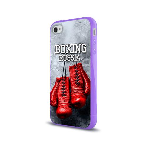 Чехол для Apple iPhone 4/4S силиконовый глянцевый  Фото 03, Boxing
