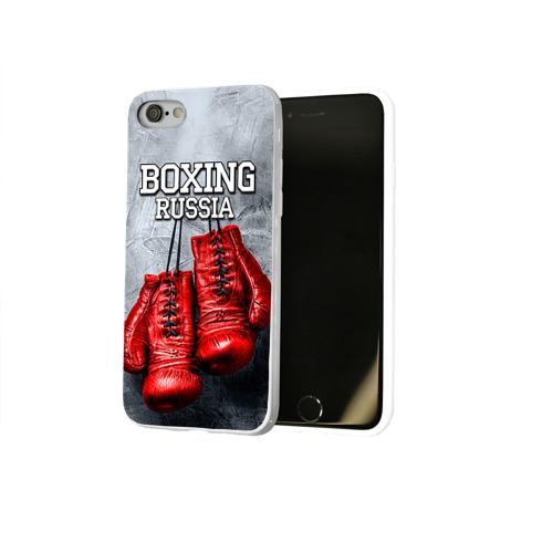 Чехол для Apple iPhone 8 силиконовый глянцевый  Фото 02, Boxing