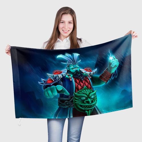 Флаг 3D  Фото 01, Storm Spirit