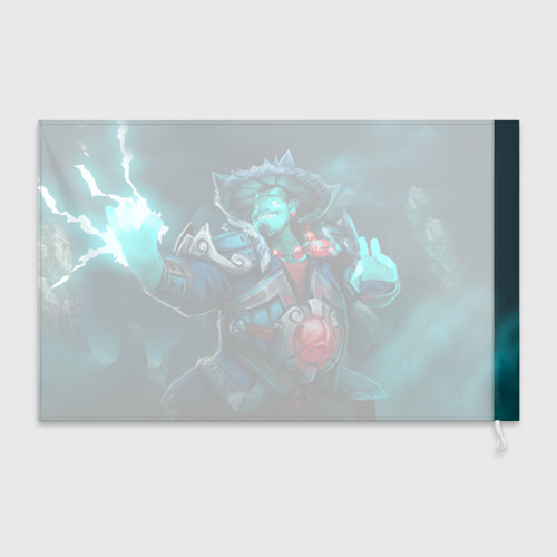 Флаг 3D Storm Spirit Фото 01