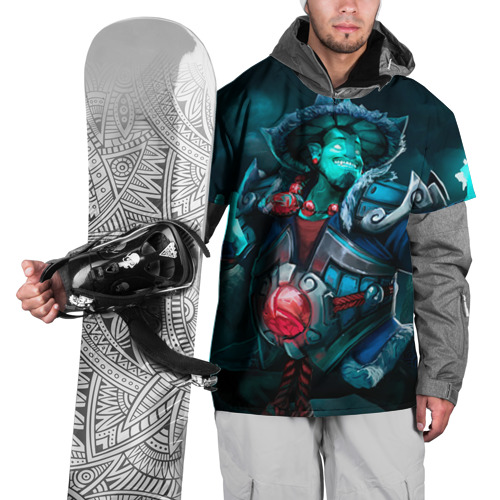 Накидка на куртку 3D  Фото 01, Storm Spirit