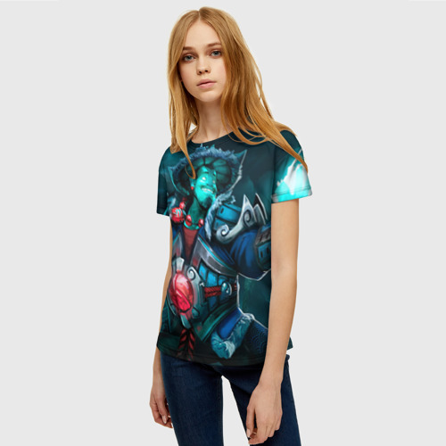 Женская футболка 3D Storm Spirit Фото 01