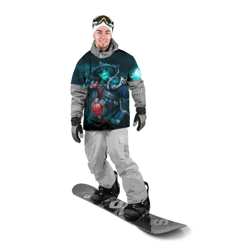 Накидка на куртку 3D  Фото 03, Storm Spirit