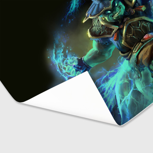 Бумага для упаковки 3D Storm Spirit Фото 01
