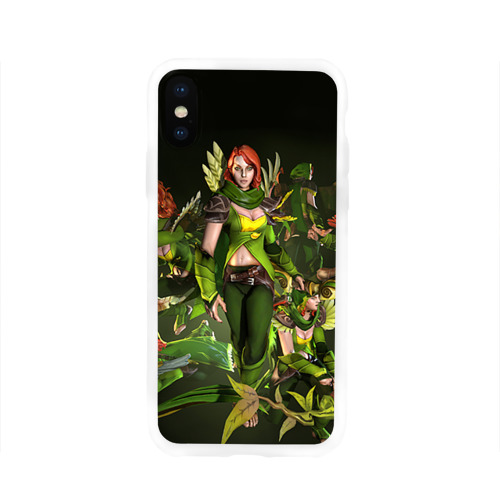 Чехол для Apple iPhone X силиконовый глянцевый  Фото 01, Windranger