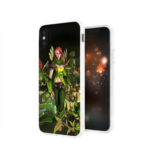 Чехол для Apple iPhone X силиконовый глянцевый  Фото 03, Windranger
