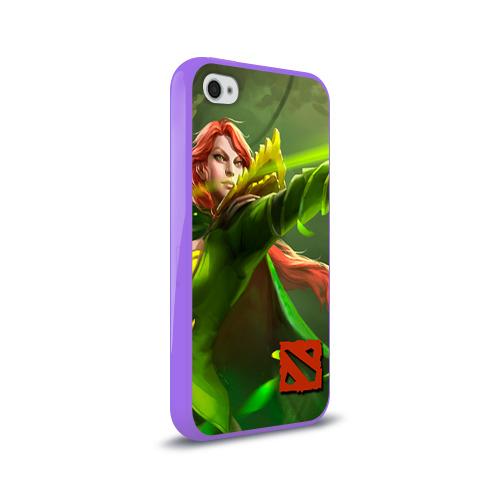 Чехол для Apple iPhone 4/4S силиконовый глянцевый  Фото 02, Windranger