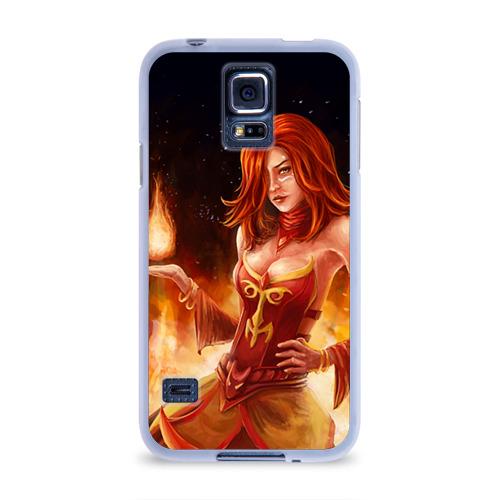 Чехол для Samsung Galaxy S5 силиконовый  Фото 01, Lina