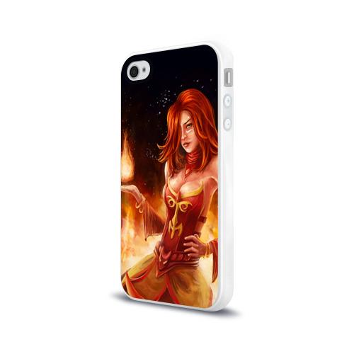 Чехол для Apple iPhone 4/4S силиконовый глянцевый  Фото 03, Lina