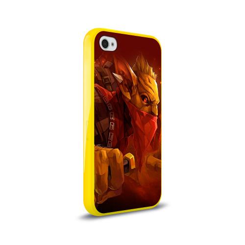 Чехол для Apple iPhone 4/4S силиконовый глянцевый  Фото 02, Bounty Hunter