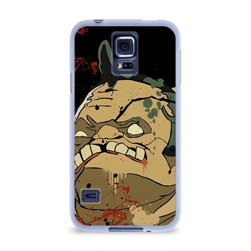 Чехол для Samsung Galaxy S5 силиконовый  Фото 01, Pudge