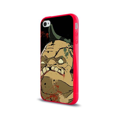 Чехол для Apple iPhone 4/4S силиконовый глянцевый Pudge Фото 01