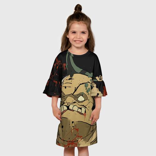 Детское платье 3D Pudge Фото 01