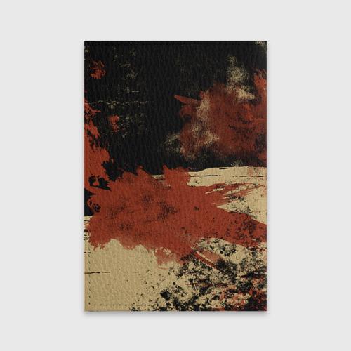 Обложка для паспорта матовая кожа Pudge Фото 01