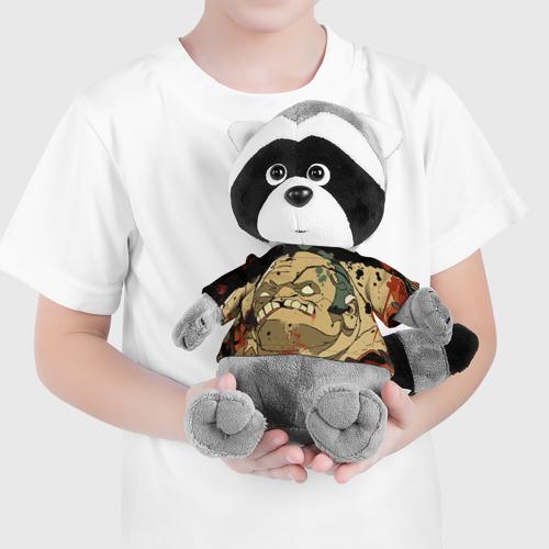 Енотик в футболке 3D Pudge Фото 01
