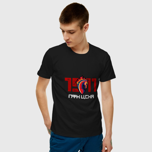Мужская футболка хлопок Конь 1911 Фото 01