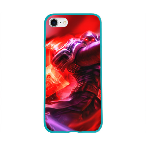 Чехол для Apple iPhone 8 силиконовый глянцевый League of legends Фото 01