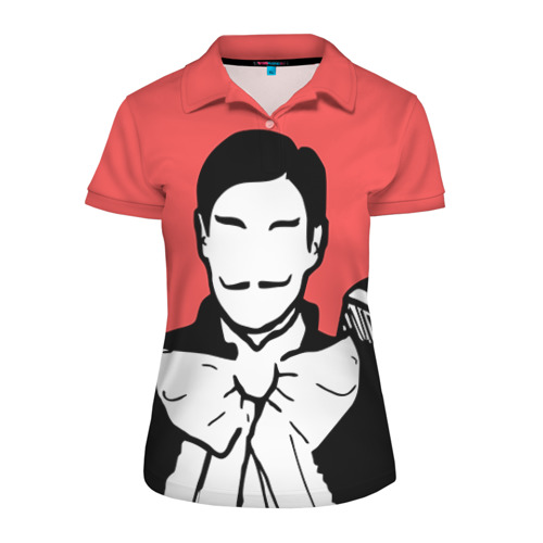 Женская рубашка поло 3D Big bang
