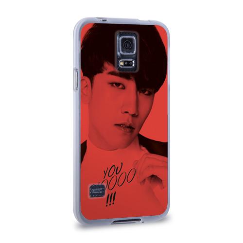 Чехол для Samsung Galaxy S5 силиконовый  Фото 02, Big bang