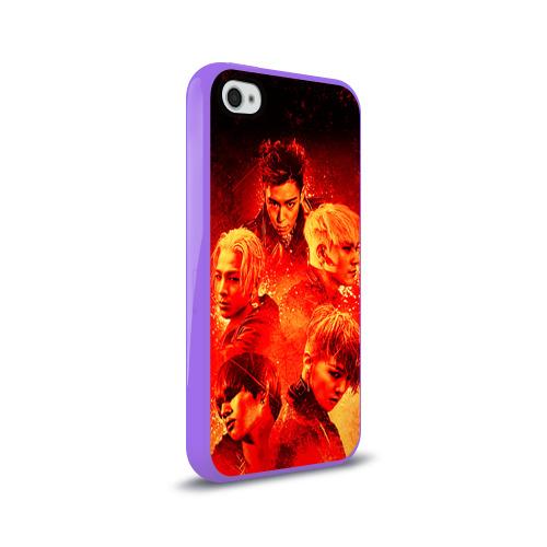 Чехол для Apple iPhone 4/4S силиконовый глянцевый  Фото 02, Big bang