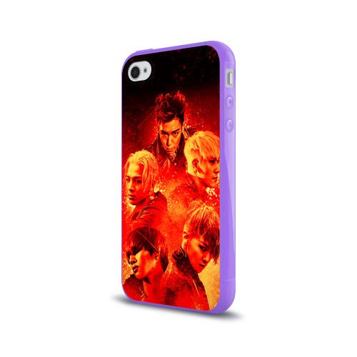 Чехол для Apple iPhone 4/4S силиконовый глянцевый  Фото 03, Big bang