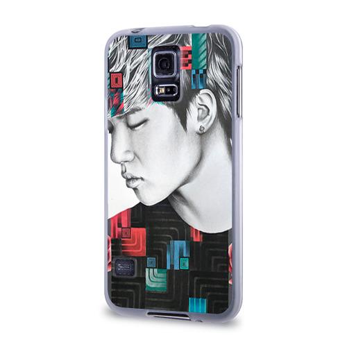 Чехол для Samsung Galaxy S5 силиконовый  Фото 03, Big bang