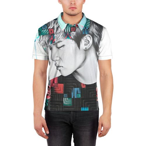 Мужская рубашка поло 3D  Фото 03, Big bang