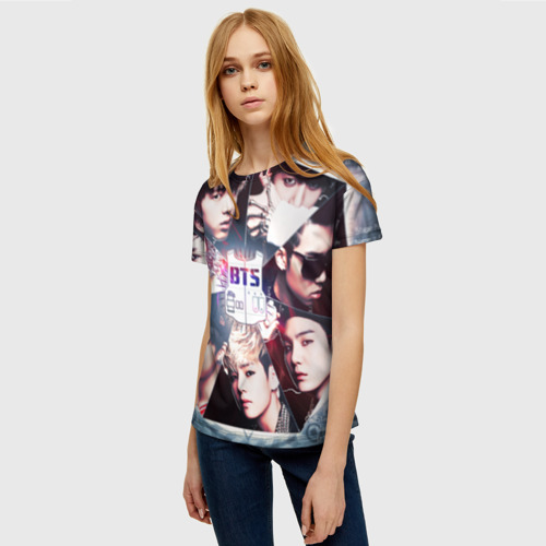 Женская футболка 3D Bts Фото 01