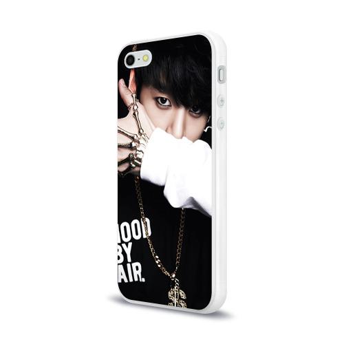 Чехол для Apple iPhone 5/5S силиконовый глянцевый  Фото 03, Bts