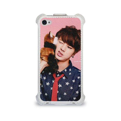Чехол для Apple iPhone 4/4S flip Bts