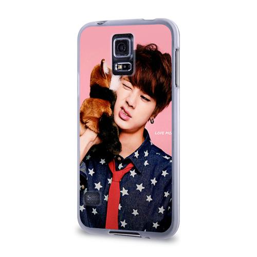 Чехол для Samsung Galaxy S5 силиконовый  Фото 03, Bts