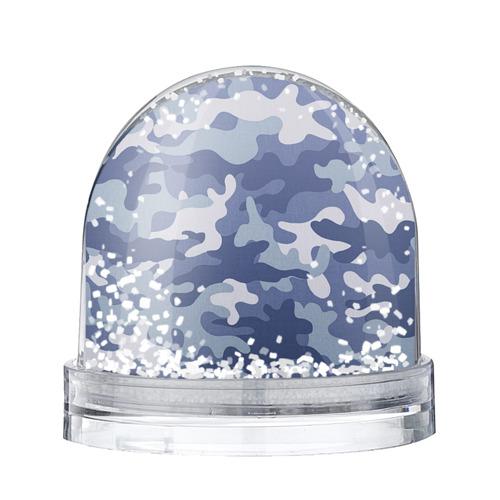 Водяной шар со снегом Камуфляж