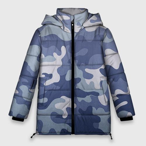 Женская зимняя куртка 3D Камуфляж Фото 01
