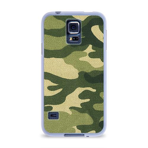 Чехол для Samsung Galaxy S5 силиконовый  Фото 01, Хаки