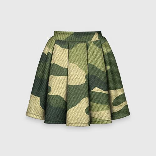 Детская юбка-солнце 3D Хаки