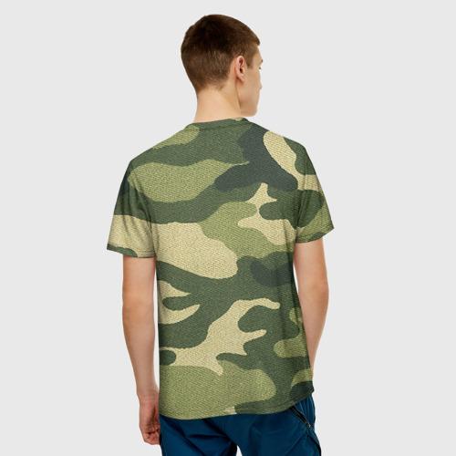 Мужская футболка 3D  Фото 02, Хаки