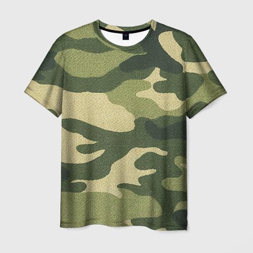 Мужская футболка 3D  Фото 03, Хаки