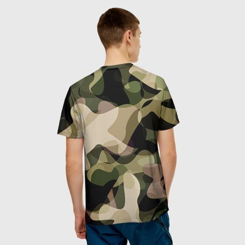 Мужская футболка 3D Камуфляж Фото 01