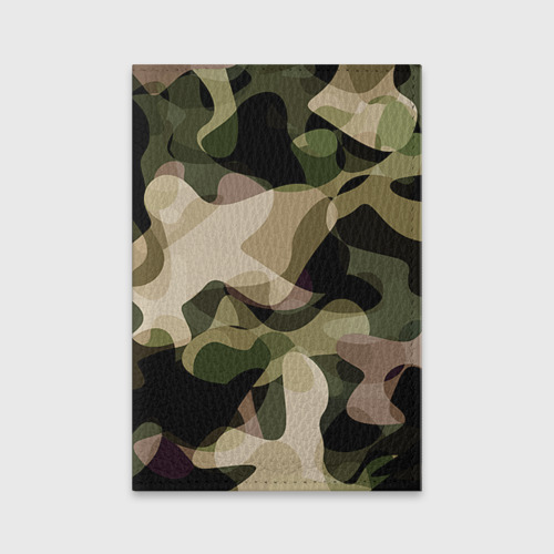 Обложка для паспорта матовая кожа  Фото 01, Камуфляж