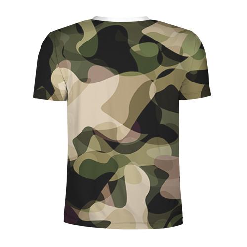 Мужская футболка 3D спортивная  Фото 02, Камуфляж