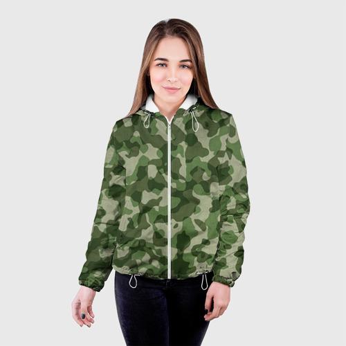 Женская куртка 3D  Фото 03, Хаки