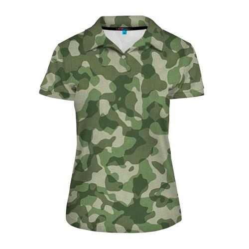 Женская рубашка поло 3D Хаки