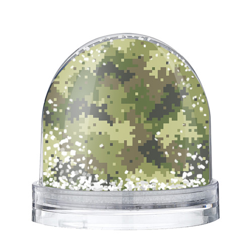Водяной шар со снегом Хаки